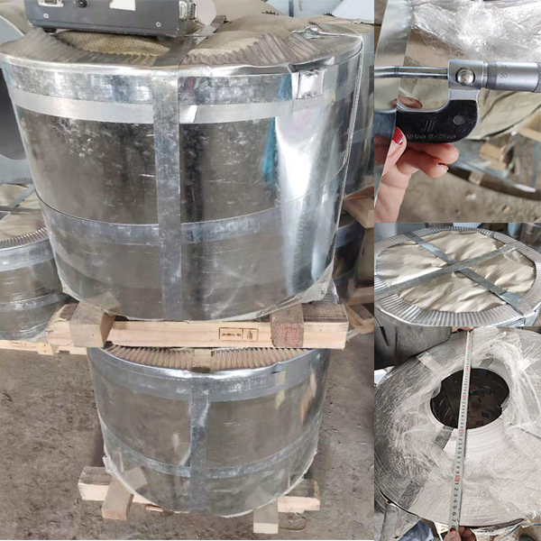 3 Tons of Galvanzied Steel Tapes were Delivered to Uzbekistan