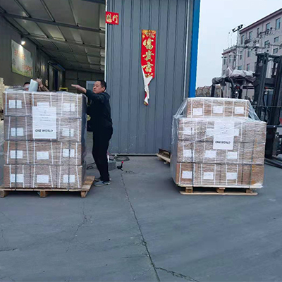 800kgs Non-woven Fabric Tape were Delivered to Brazil