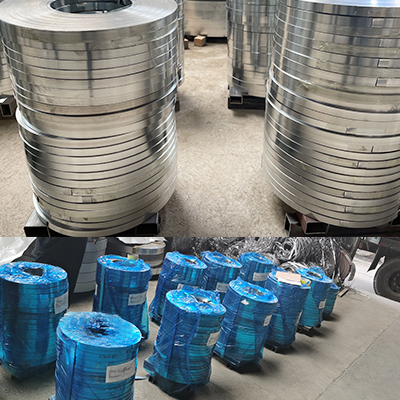 Galvanized Steel Tape for Cable Armoring were delivered to Saudi Arabia